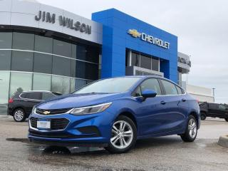Used 2017 Chevrolet Cruze LT Auto LT SEDAN AUTO HEATED SEATS REMOTE START REAR CAM for sale in Orillia, ON