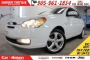 Used 2011 Hyundai Accent SPORT| SUNROOF| ALLOY WHEELS| 5-SPD MT| FUN TO DRI for sale in Mississauga, ON