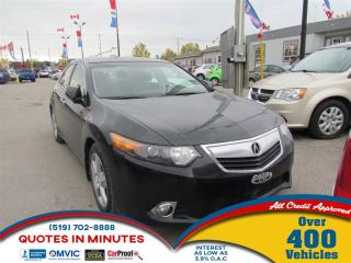 Used 2012 Acura TSX Premium   LEATHER   ROOF   HEATED SEATS   SAT RADI for sale in London, ON