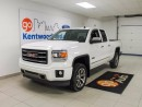 Used 2014 GMC Sierra 1500 SIERRA SLT! LEATHER AND NAV! for sale in Edmonton, AB