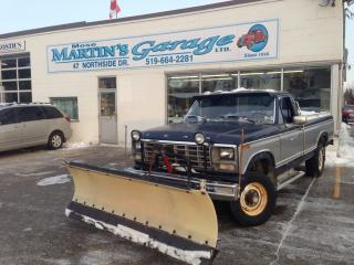 Used 1980 Ford F-250 snow plow for sale in St Jacobs, ON