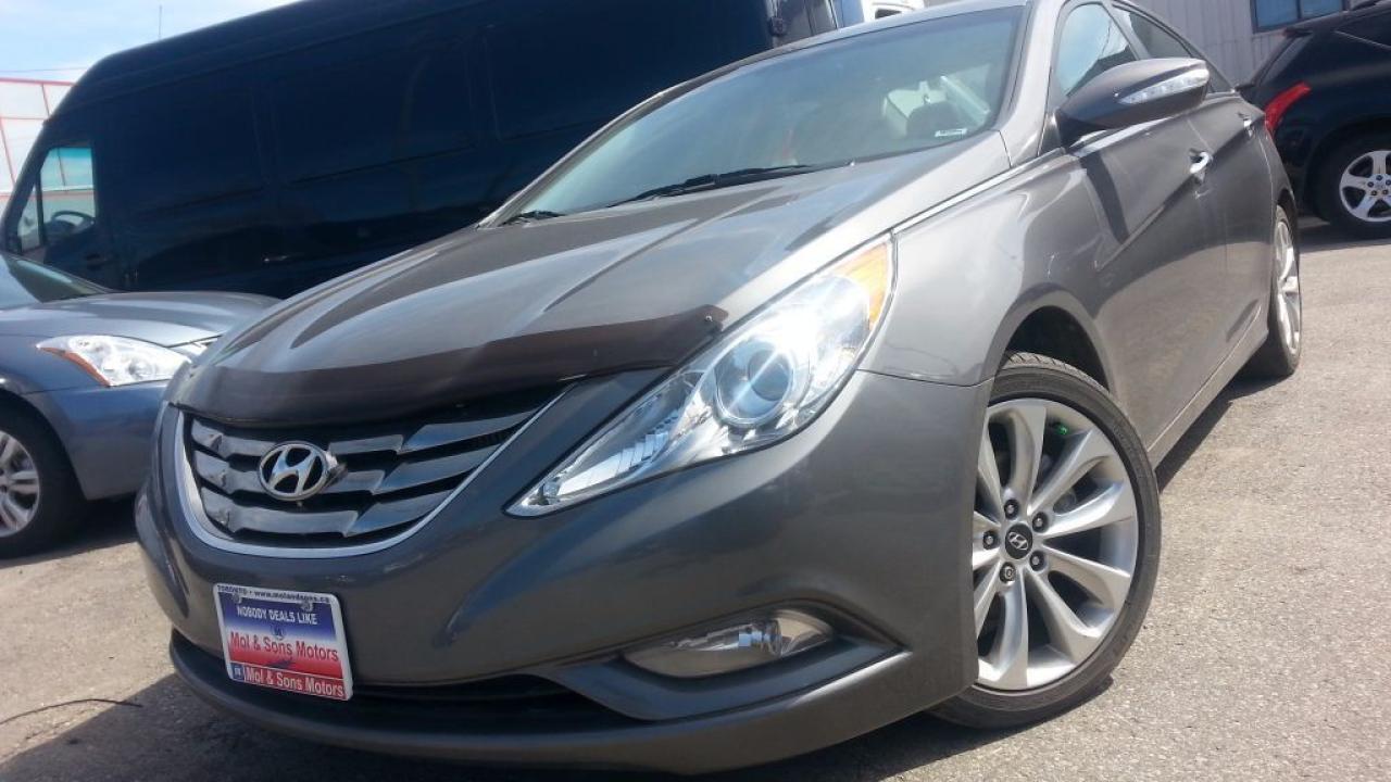 2011 Hyundai Sonata LTD/LEATHER/NAV/REAR CAM/H-SEATS/AUTO