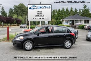 Used 2012 Nissan Versa 1.8 Hatchback, 23 Service Records, Only 108,000 km's! for sale in Surrey, BC