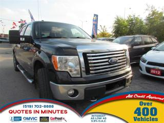 Used 2012 Ford F-150 XTR   4X4   ECOBOOST   SAT RADIO   6PASS for sale in London, ON