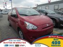 Used 2015 Mitsubishi Mirage ES | ONE OWNER for sale in London, ON