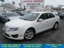 Used 2010 Ford Fusion SE Prl White Auto All Power&GPS*$39/wkly for sale in Mississauga, ON