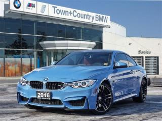 Used 2016 BMW M4 Coupe Premium Package for sale in Unionville, ON