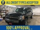Used 2011 Chevrolet Silverado 1500 CREW CAB*4WD*VORTEC*BOX CAP*BED LINER*HITCH RECEIVER W/WIRING OUTLET*POWER WINDOWS, LOCKS,MIRRORS*KEYLESS ENTRY*BLUETOOTH PHONE*CRUISE* for sale in Cambridge, ON
