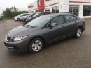 Used 2013 Honda Civic LX for sale in Smiths Falls, ON