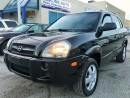 Used 2005 Hyundai Tucson GL/4 CYL/REMOTE STRT/CERTIFIED for sale in Concord, ON