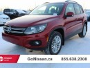 Used 2016 Volkswagen Tiguan Comfortline 4dr All-wheel Drive 4MOTION for sale in Edmonton, AB