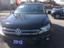 Used 2012 Volkswagen Tiguan 2.0 Litre TSI for sale in Etobicoke, ON