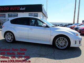 Used 2012 Subaru WRX STI Turbo AWD 6 Speed Sedan Certified for sale in Milton, ON