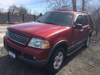 Used 2005 Ford EXPLORER XLT * 4WD * LEATHER * SUNROOF * POWER GROUP for sale in London, ON