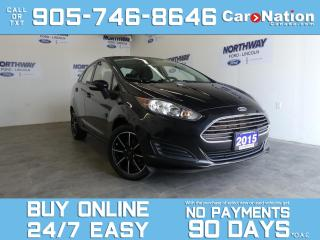 Used 2015 Ford Fiesta SE   ONLY 50 KM!   16'' BLACK RIMS   OPEN SUNDAYS! for sale in Brantford, ON