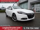 Used 2013 Dodge Dart SXT/Rallye for sale in Surrey, BC
