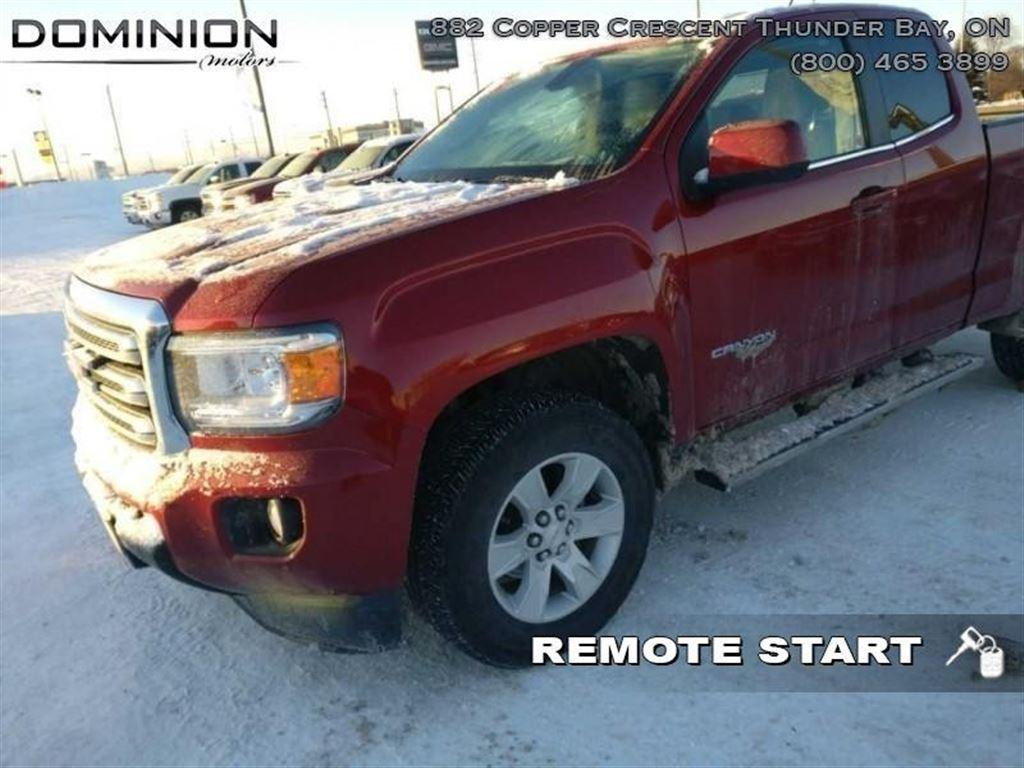 Used 2015 gmc canyon sle for sale in thunder bay ontario Dominion motors thunder bay