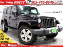 Used 2008 Jeep Wrangler Unlimited Sahara  WE WANT YOUR TRADE  OPEN SUNDAYS for sale in Burlington, ON