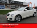 Used 2014 Cadillac ATS 2.0 Turbo Premium   AWD, LEATHER, NAV, BACKUP CAM! for sale in St Catharines, ON