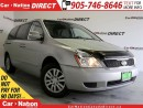 Used 2011 Kia Sedona WE WANT YOUR TRADE| OPEN SUNDAYS| for sale in Burlington, ON