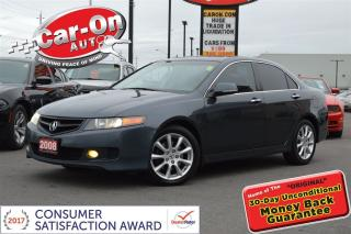 Used 2008 Acura TSX leather sunroof for sale in Ottawa, ON