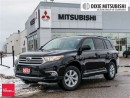Used 2013 Toyota Highlander 4WD V6 5A REAR VIEW, 4X4, V6, 7 SEATS for sale in Mississauga, ON