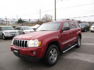 Used 2005 Jeep Grand Cherokee Limited Hemi ,Nav , DVD for sale in Newmarket, ON