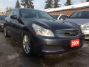 Used 2009 Infiniti G37X  AWD Bluetooth Leather Alloys Sunroof MINT Cond. for sale in Scarborough, ON