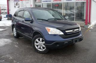 Used 2008 Honda CR-V EX-L LEATHER,ROOF,NAVI,AWD for sale in Etobicoke, ON