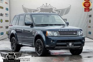 Used 2011 Land Rover Range Rover Sport SUPER CHARGED, BACK-UP CAM, NAVI, LEATHER, MOONROOF, HEATED SEAT for sale in Toronto, ON