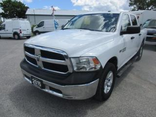 Used 2015 Dodge Ram 1500 POWER EQUIPPED TRADESMAN EDITION 5 PASSENGER 5.7L - HEMI ENGINE.. 4X4.. CREW.. SHORTY.. CD/AUX/USB INPUT.. KEYLESS ENTRY.. for sale in Bradford, ON
