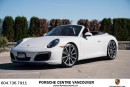 Used 2017 Porsche 911 Carrera Cabriolet (991) w/PDK Porsche Approved Certified. for sale in Vancouver, BC