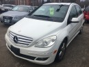 Used 2007 Mercedes-Benz B-Class for sale in Mississauga, ON