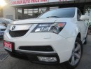 Used 2012 Acura MDX SH-AWD-PRM-PKG-7 PASS- BACK UP CAMERA-LOADED - Sca for sale in Scarborough, ON