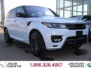 Used 2016 Land Rover Range Rover Sport HST LE - CPO 6yr/160000kms manufacturer warranty included until Decemeber 30, 2022! CPO rates starting at 2.9%! Local One Owner Trade In | No Accidents | 3M Protection Applied | Navigation | Park Assist | Reverse Traffic/Blind Spot/Closing Vehicle S for sale in Edmonton, AB