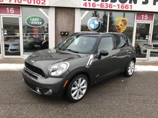 Used 2011 MINI Cooper Countryman S for sale in North York, ON