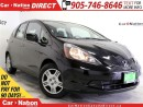 Used 2014 Honda Fit LX| WE WANT YOUR TRADE| OPEN SUNDAYS| for sale in Burlington, ON