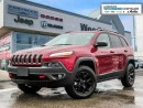 Used 2017 Jeep Cherokee Trail Hawk Pana Sunroof for sale in Markham, ON