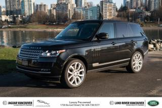 Used 2013 Land Rover Range Rover Supercharged (SC) for sale in Vancouver, BC