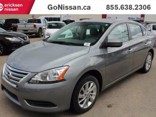 Used 2013 Nissan Sentra SV, Alloy Wheels, Back up Camera, Blue tooth, Low Kms for sale in Edmonton, AB