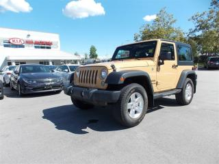 Used 2014 Jeep Wrangler SPORT for sale in West Kelowna, BC