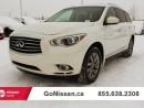 Used 2014 Infiniti QX60 Premium, navigation, sunroof! for sale in Edmonton, AB