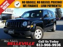 Used 2016 Jeep Patriot Sport-4x2-air Conditioning for sale in Belleville, ON