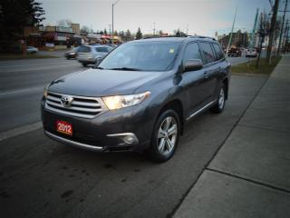 Used 2012 Toyota Highlander V6, 7 PASSANGER, LEATHER, SUNROOF. for sale in Toronto, ON