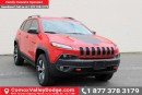 New 2017 Jeep Cherokee Trailhawk 4x4, HANDS-FREE/NAV READY/ BACK UP CAMERA for sale in Courtenay, BC