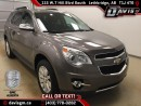 Used 2010 Chevrolet Equinox LTZ-Perforated Heated Leather, Remote Start, Tilt Sunroof for sale in Lethbridge, AB