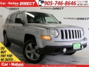 Used 2015 Jeep Patriot High Altitude| LEATHER| SUNROOF| 4X4| HEATED SEATS for sale in Burlington, ON