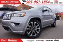 Used 2017 Jeep Grand Cherokee Overland|BRAND NEW| 4X4| NAV| PANO SUNROOF| for sale in Mississauga, ON