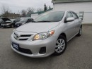 Used 2012 Toyota Corolla CE for sale in St Catharines, ON