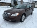 Used 2012 Chrysler 200 LX for sale in Belmont, ON